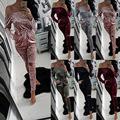 High Quality Autumn Winter Rompers Women Velvet Jumpsuit New Long Sleeveless Playsuit Sexy Bodysuit Party Slim