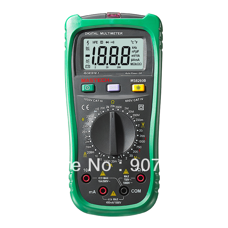 Mastech MS8260B Digital Multimeter DMM VOLT STICK Detector Free Shipping<br><br>Aliexpress