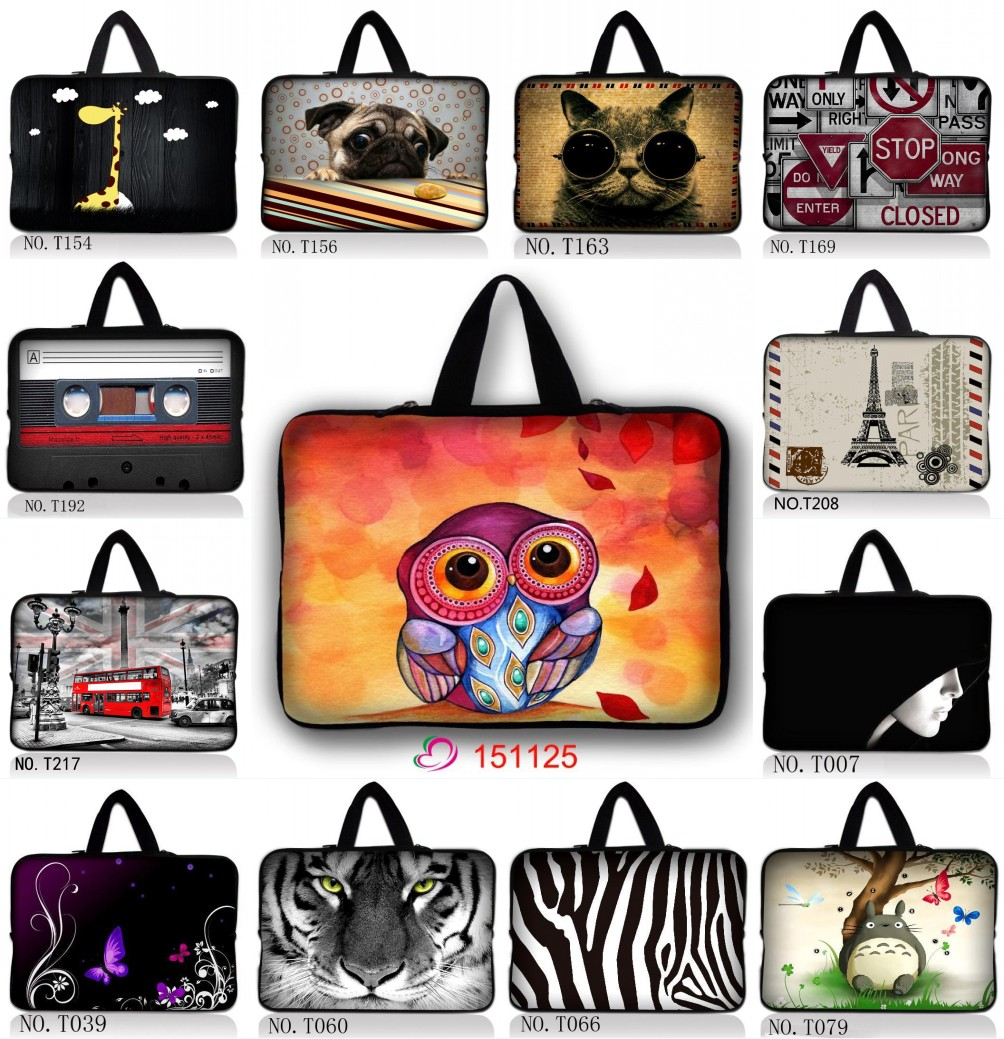 "Coolest Laptop Sleeve Notebook Case Cover Bag For 9.7"" 10.6"" 10"" 12 13"" 13.3"" 15.6"" 14 15 17"" 17.3"" Macbook HP Samsung Laptop PC(China (Mainland))"