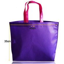 Shopping Bag Foldable eco bag Reusable Grocery Bags Convenient Totes Red Cotton Tote Bag fabric Non-woven fabric BAG006(China (Mainland))