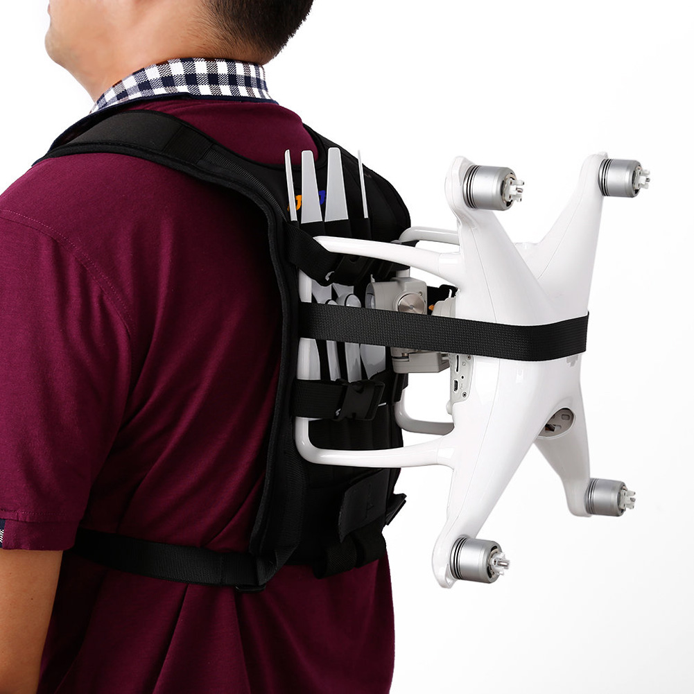 OCDAY Shoulder Backpack Chest Bag For DJI Phantom 2 3 4 Vision Quadcoptrer