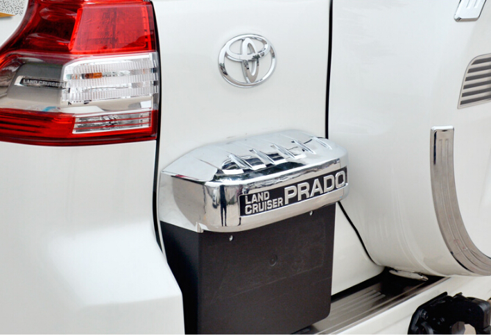 Auto chrome accessories,oil tank cover trim LAND CRUISER PRADO 2014 abs chrome, auto accessories