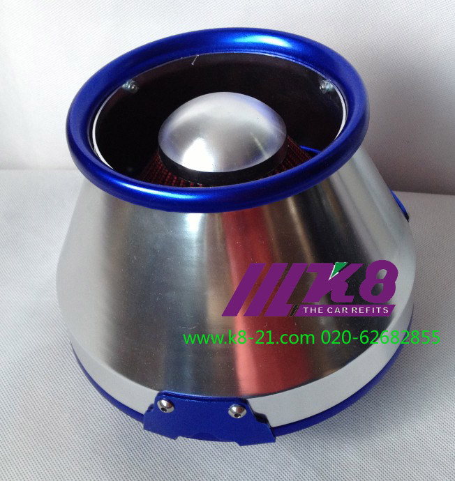 ON SALE Quality Guarantee High Quality Aluminum Auto Part Racing Sport Air Filter blue/red(China (Mainland))