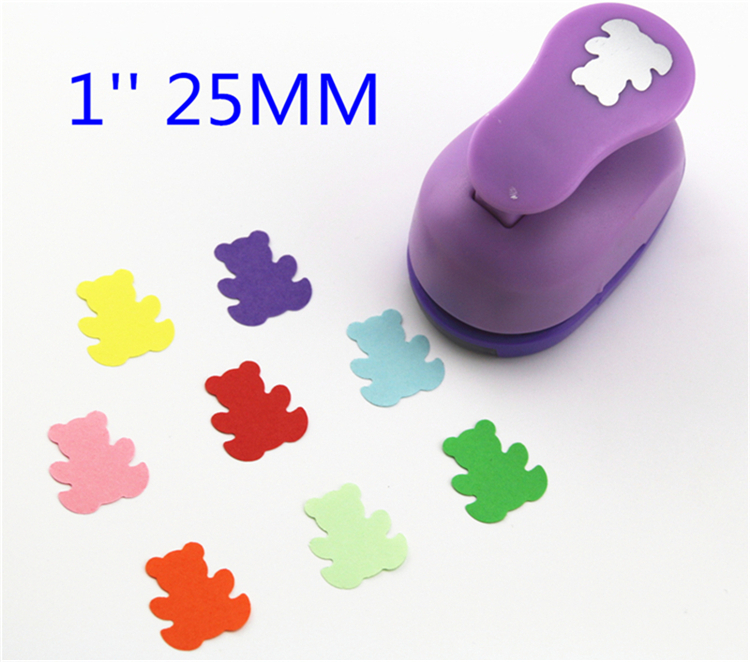 free ship 1 Bear paper cutter scrapbooking punches paper punch eva foam punch child diy craft punch scrapbookS293717<br><br>Aliexpress