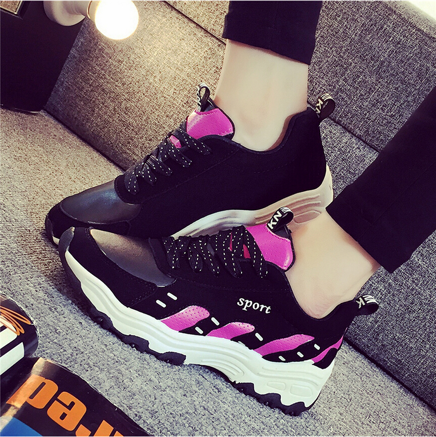 Fall 2015 student movement single shoes, leisure shoes thick bottom fashion joker casual shoes 1(China (Mainland))