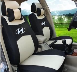 "Free Shipping+""Generic Car Version"" Seat Cover For HYUNDAI Solaris Elantra Accent Sonata sonata nf Verna Avante i30 ix35 +Logo(China (Mainland))"