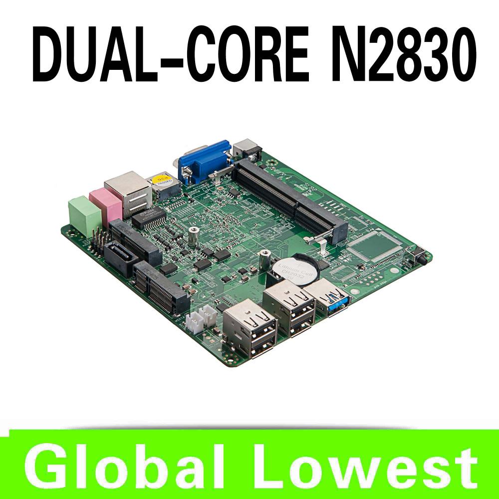 2015 New X30-N2830 Celeron dual core n2830 mini motherboard n2830 mainboard industrial mini itx with 1*HDMI,6*USB for 1 lan port(China (Mainland))
