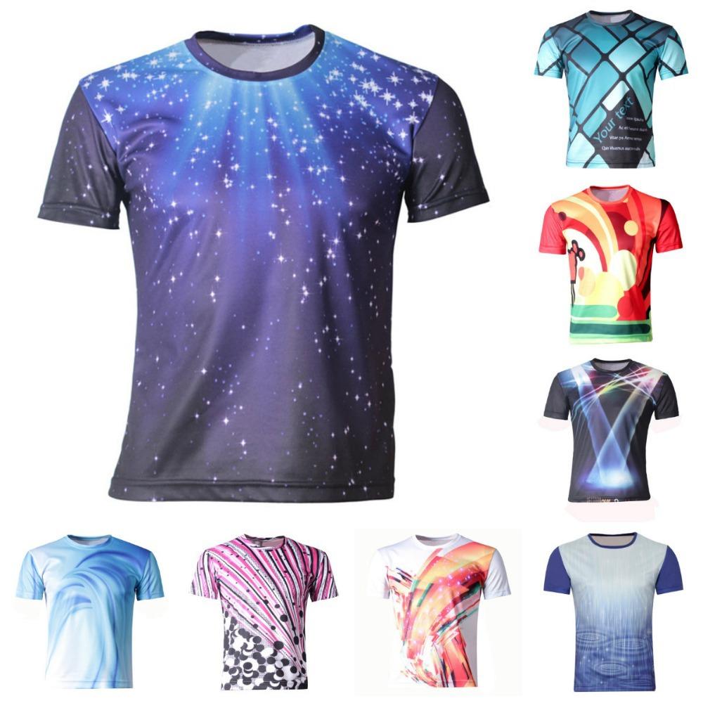 Shirt design new 2017 -  Girl Boys Clothes New 2017 Summer Boy T Shirts Children 3d Printing T Shirt Galaxy