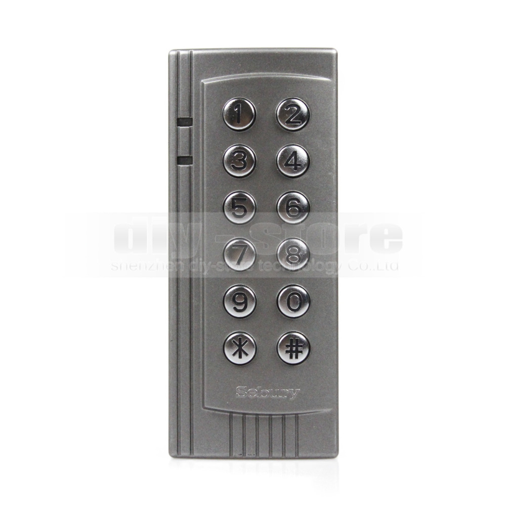 New Proximity RFID 125KHz Card Reader Access Control Keypads Access Controller For Office / Home Improvement(China (Mainland))