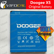 DOOGEE X5 Battery 2400mAh 100% Original New Replacement accessory accumulators For DOOGEE X5 Cell Phone + Free Shipping