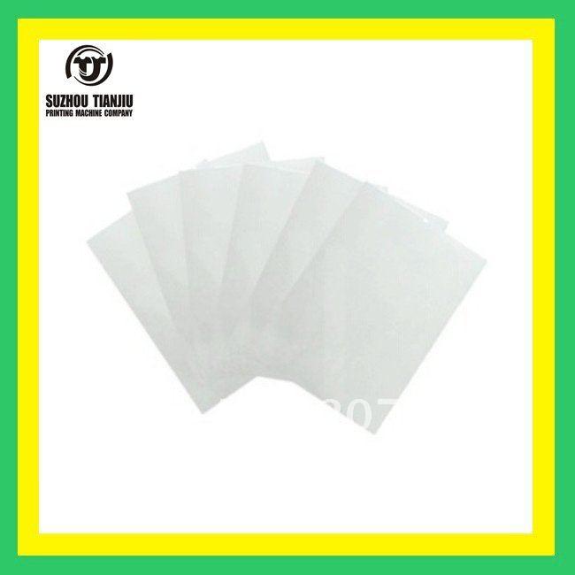 TJ A4(100 sheet/bag)Transparency Film for Making Screen,Inkjet Film,screen printing film A4(China (Mainland))