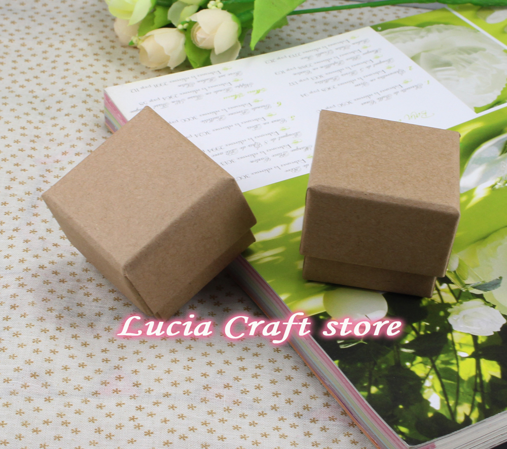 Brown color Wedding Gift Packing Paper Boxes Storage Carton Box 5cm ...
