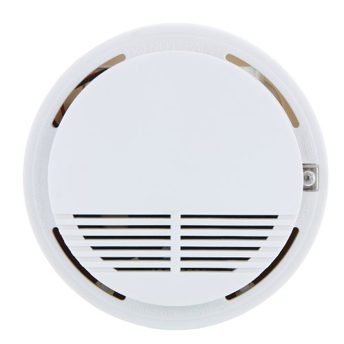 Independent Photoelectric Smoke Detector Fire Smoke Alarm Sensor For Home Safety Garden Security(China (Mainland))