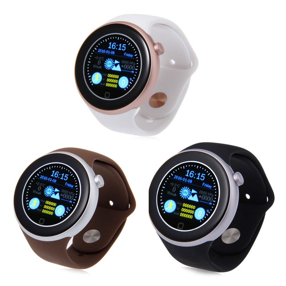 AIWEAR C1 Dual Bluetooth Smart Watch Phone Wristwatch Siri Gesture Control Flashlight Calculator BT Heart Rate Track Smartwatch(China (Mainland))