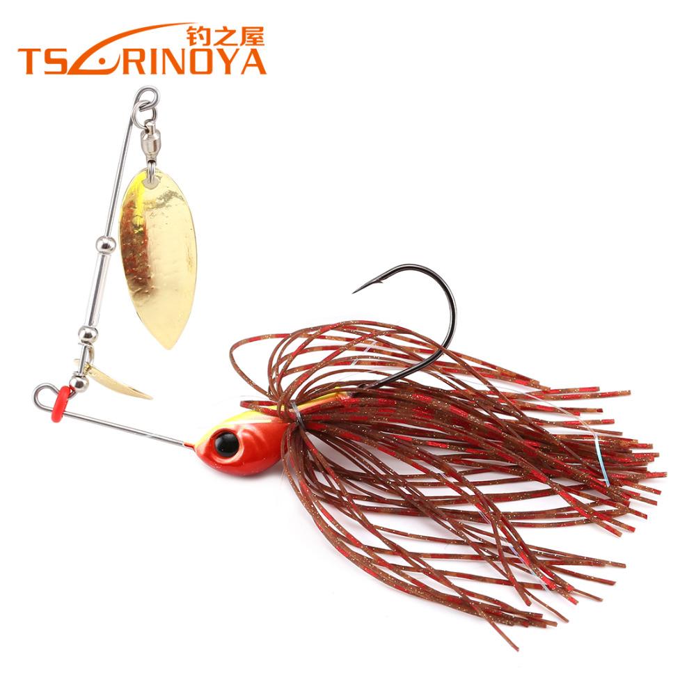 Buy 5 pcs lot trulinoya spinnerbait 7g for How to make a fishing spinner