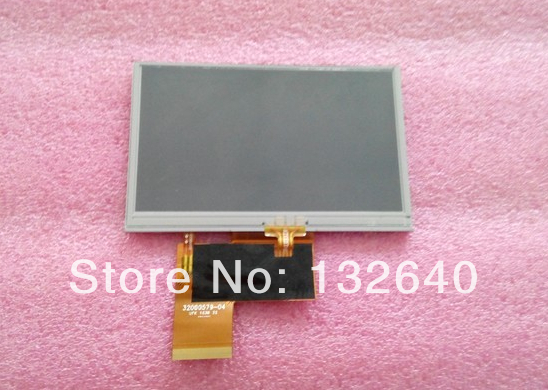 100% Tested NEW Original AT043TN24 V4 4.3 Inch 67pins TFT LCD Screen Display With Touch Panel Digitizer GPS LCD Replacement(China (Mainland))