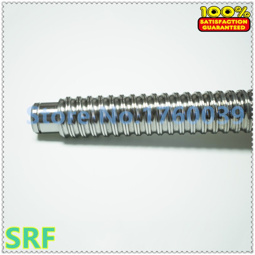 16mm Ballscrew 1605 C7 SFU1605 Rolled ball screw L=500mm with  single ball nut for CNC part BK/BF12 end processing