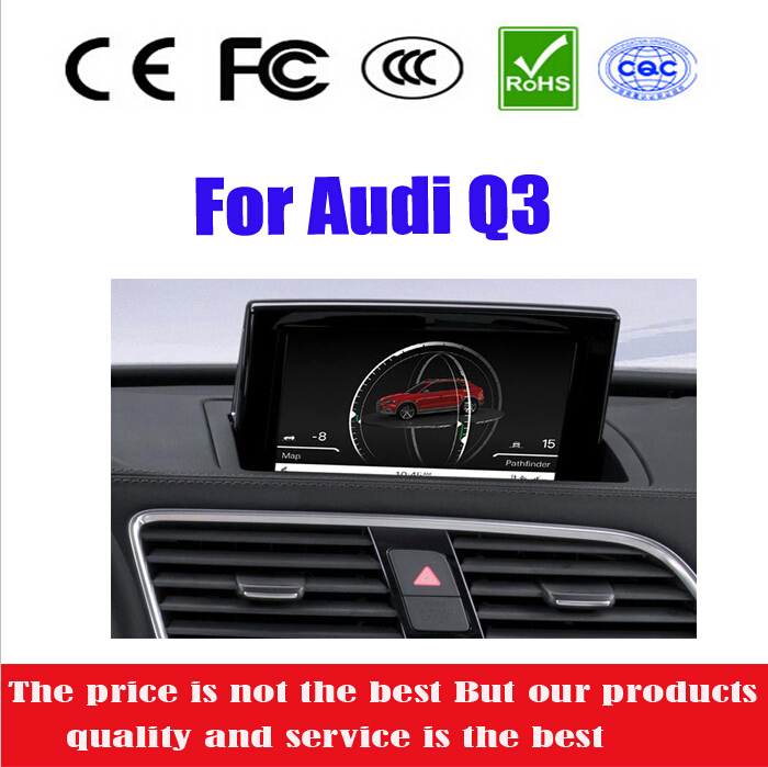 """8"""" Special Car DVD Player For Audi Q3 2011 2012 2013 2014 With Radio+GPS+IPOD+BT+DVD+RM/AM+RDS+SD+USB+RCA+AUX+CANBUS(China (Mainland))"""