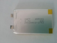 Пятно поставка высокая — полимер аккумулятор 3,7 V 855080 805080 4000 мАч