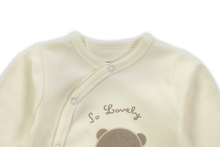 Retail New Arrival100 Pure Cotton Baby Rompers Girl Boy Baby Pajamas Cute Bear Newborn Next Jumpsuits