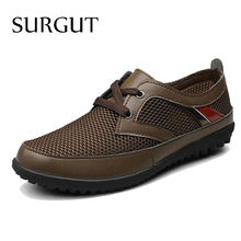 Men Casual Shoes Summer Boots Zapato New Casual Men Shoes Breathable Mesh Botas Shoes Sale(China (Mainland))