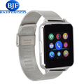 E6 bluetooth smart watch for android phone sport reloj inteligente Support camera SIM card Steel leather