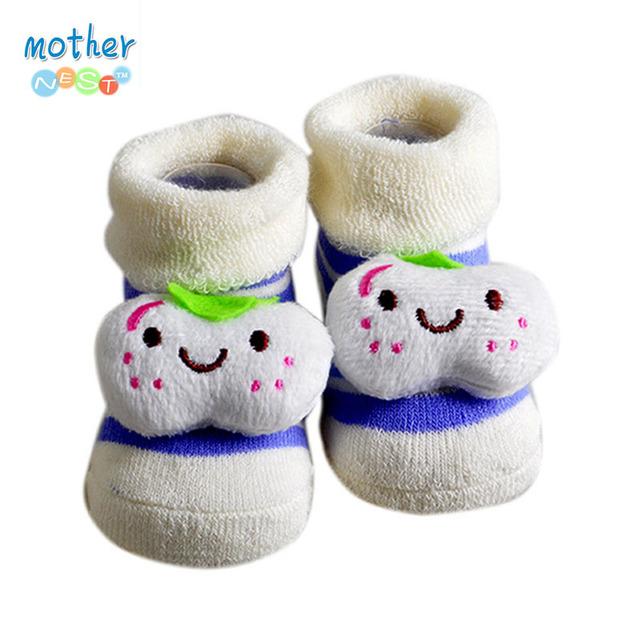 6 Стили детские носки Прекрасные смазливая 0-6M новорожденный носки животных мультфильм ...