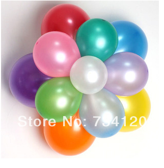 B015 100pcs Balloons Occasions Wedding Birthday Party Decoration Christmas Supplies decorate free shipping Wholesale(China (Mainland))