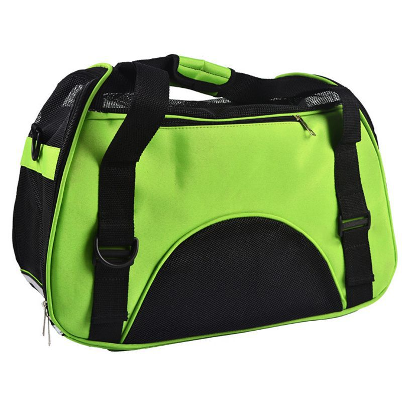Portable Folding Dog Cat Puppy Crate Kennel Cage Carrying Carrier Bag Comfort Travel Tote Shoulder Pack Bag For Smal Pet Product(China (Mainland))