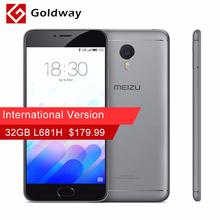 "Original Meizu M3 Note Pro International Version 32GB ROM L681H Mobile Phone MTK Helio P10 Octa Core 5.5"" 1920x1080 4100mAh(Hong Kong)"