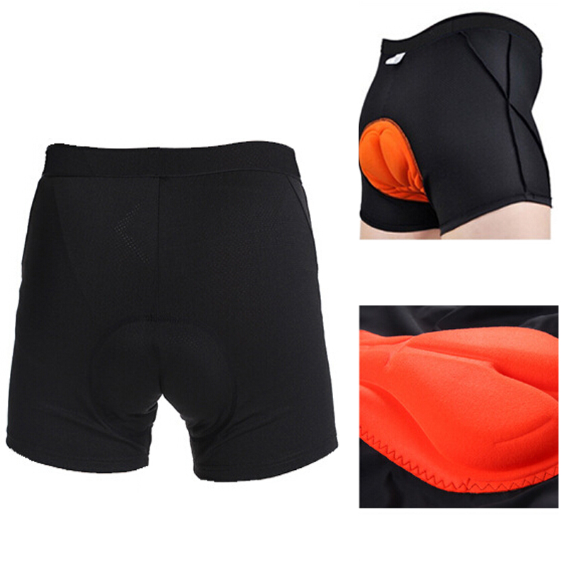 Top Quality Cycling Underwear 3D GEL Padded Men s Bicycle Bib Shorts Comfortable Body Building Sports
