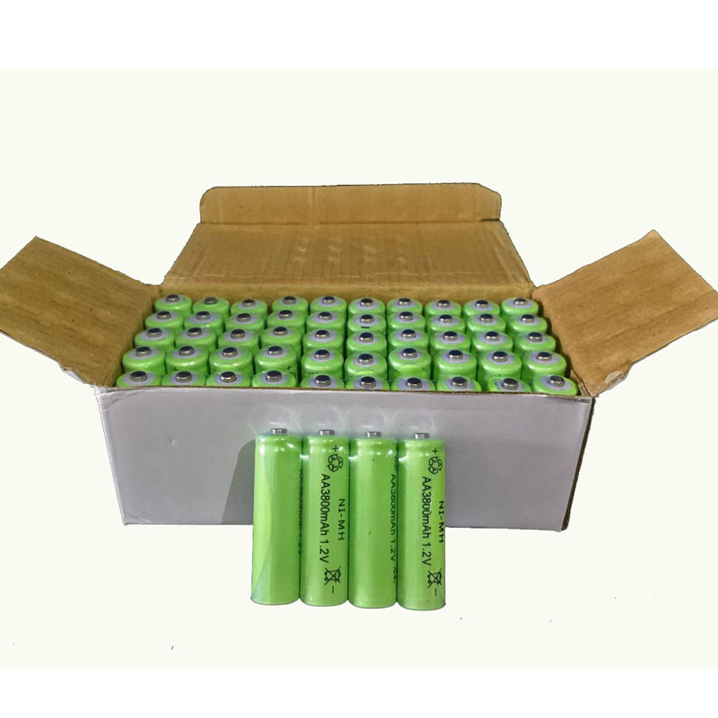 12pc a lot Ni-MH 3800mAh AA Batteries 1.2V AA Rechargeable Battery NI-MH battery for camera,toys(China (Mainland))