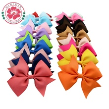 Buy 20pcs/lot 3.5'' Girls' Hair Accessories Boutique Hair clips Grosgrain Ribbon Pinwheel Bows Headband 565 for $5.46 in AliExpress store