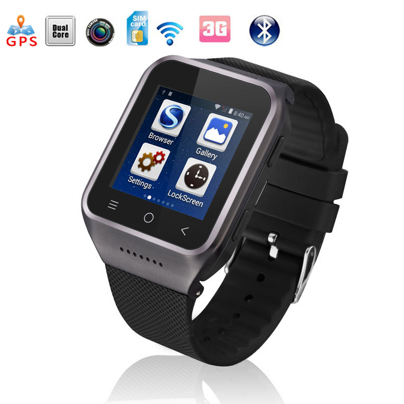 Original 3G Smartwatch ZGPAX S8 Smart Watch Android With MTK6572 Dual Core 5.0MP Camera WCDMA GSM GPS TF Support Relogio Android<br><br>Aliexpress