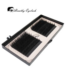 Buy 16 lines 0.05/0.07/0.10/0.015 3D-6D Volume False Eyelash Extension Mixed Lengths One Strip Fancy Packing for $3.71 in AliExpress store