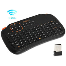Original Viboton Mini Wireless Keyboard with Touchpad S1 Fly Mouse/ Remote Control/Touchpad for Mini PC/ Android/ TV BOX/ Laptop