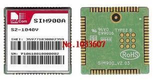 Free Shipping 2PCS SIM900A GSM/GPRS SIMCOM module(China (Mainland))