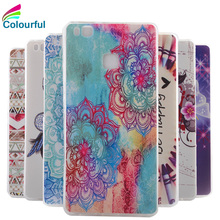 Huawei P9 Lite Case Luxury Cartoon TPU Ascend P9Lite P 9 G9 Silicone Soft Phone Back Cover Skin - Shenzhen Colorful Technology Ltd. store