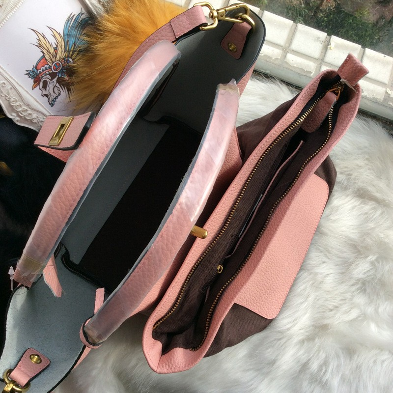 2016Fashion Trapeze Bag Women's Composite Handbag  European & American Korea Style  Vintage Tote HandBag Messenger Bag