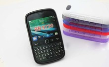 50pcs/lot&Free Shipping New S Line TPU back case for BlackBerry Curve 9720(China (Mainland))