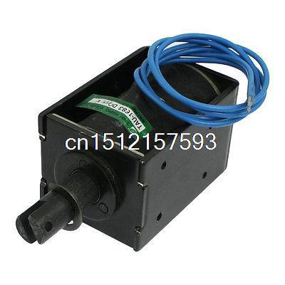 110V 1.54A Open Frame Pull Type Linear Solenoid 20mm Stroke 1.6N<br><br>Aliexpress