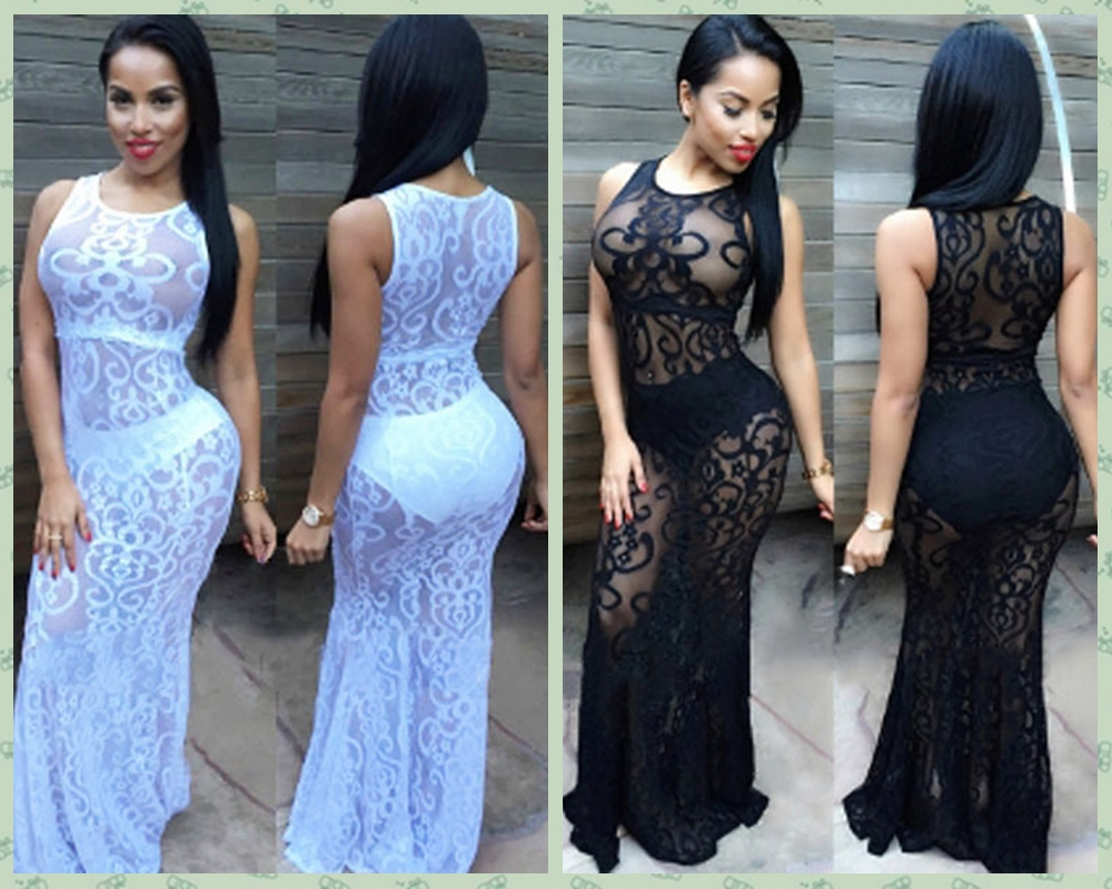 See Thru Party Dresses