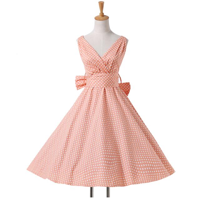 Коктейльные платья короткие горошек дешево-колен коктейльное платье Большой размер ...