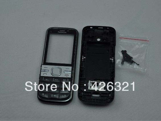 Hot Sales New Arrival for Nokia c500 housing mobile phone housing for Nokia c5-00 with free shipping(China (Mainland))