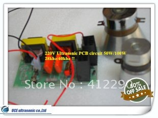28khz ultrasonic transducer driver 50W/220V Price including matching Transducers(China (Mainland))