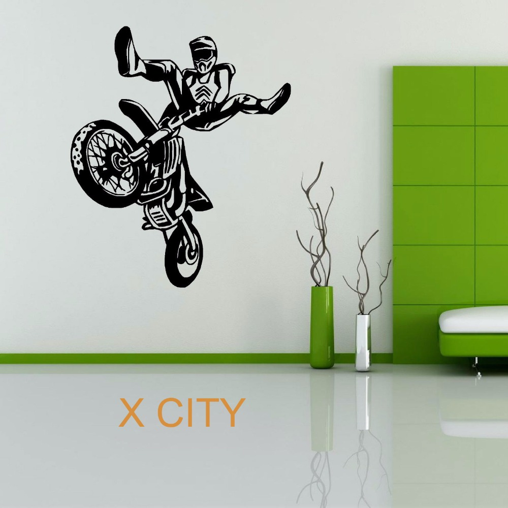 Motocross Bedroom Decor High Quality Motocross Wall Decor Promotion Shop For High Quality
