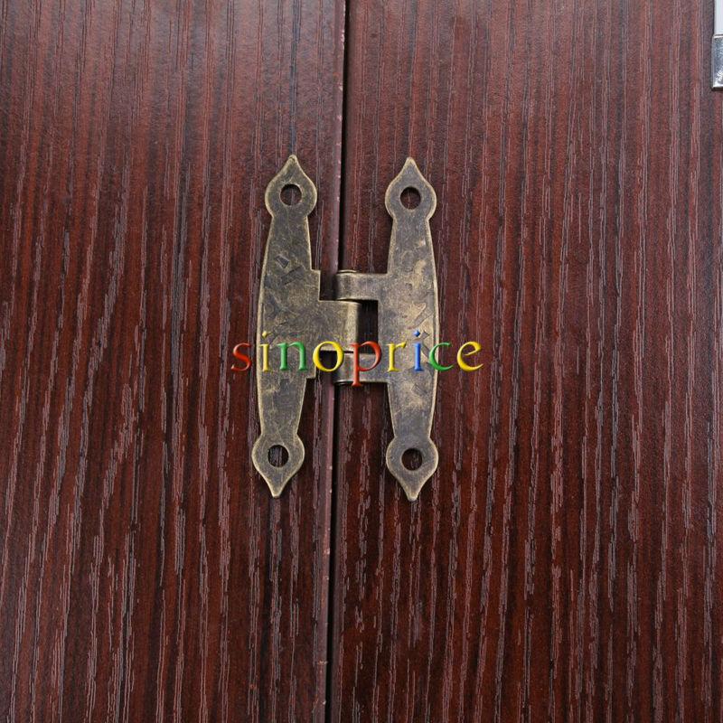 Гаджет  8pcs Zinc Alloy Long Hinges DIY Repair for Home Office Furniture Closet Door None Аппаратные средства