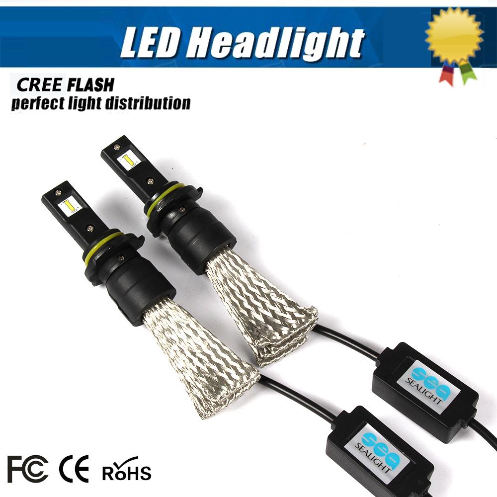 9005 LED CAR EXTERNAL Light HB3 70W 68000LM automotive headlight headlamp replace Xenon HeadLight Bulb Halogen Light Super White(China (Mainland))