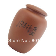 Sale promotion! New Purple Clay Zisha Sealed Jar Pot Kongfu Tea Set Tea Candy Pot Box