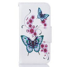 Buy Case iPhone Art Print Pattern Funda Flip Leather Cover Wallet Card Slot bags Apple iPhone 7 7G Stand Coque for $3.75 in AliExpress store